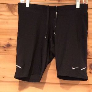 Nike spandex running shorts